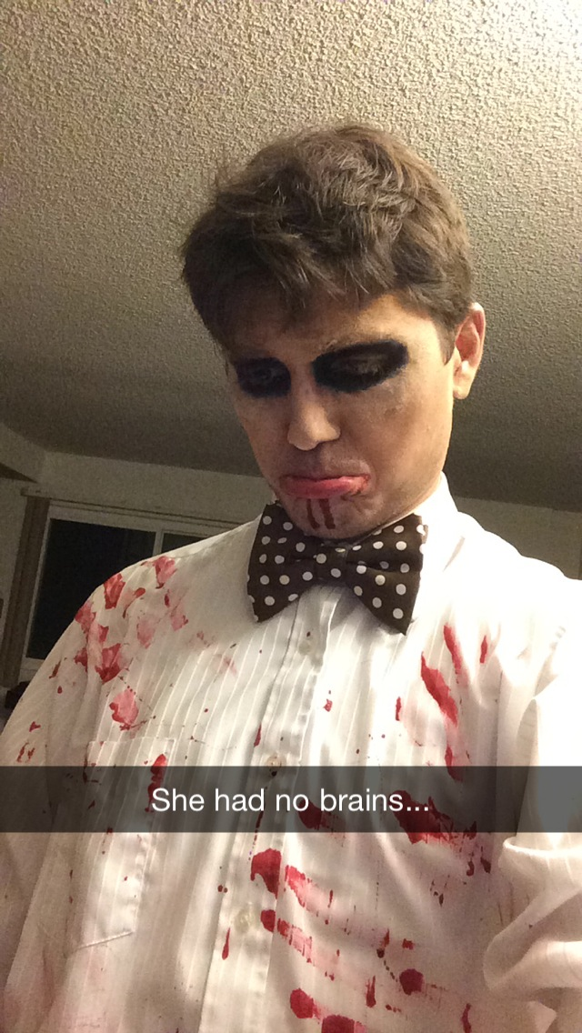 Zombie at Prom Night of the Living Dead