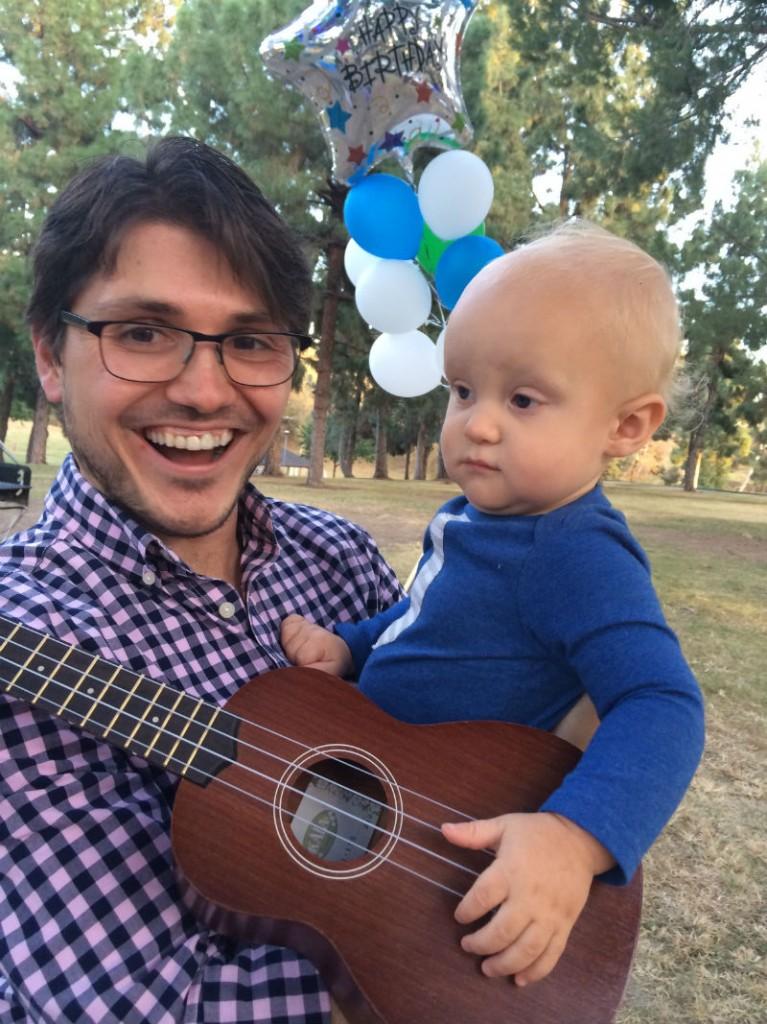 Henley's first birthday