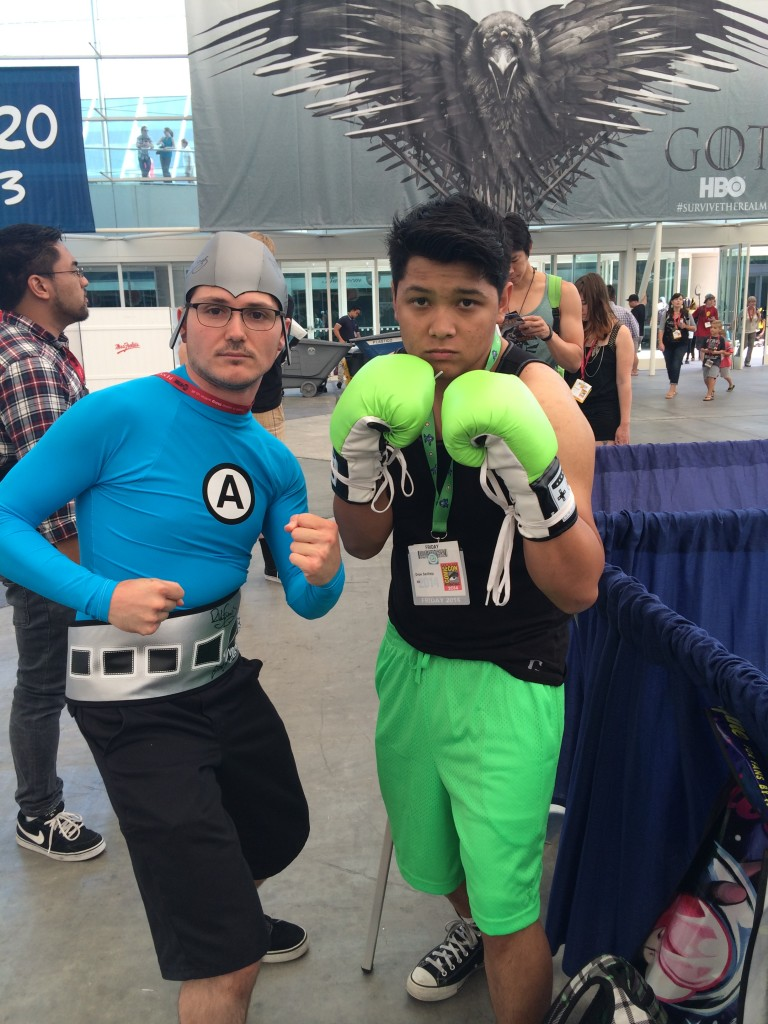 @destinedsaint (Instagram) as Little Mac