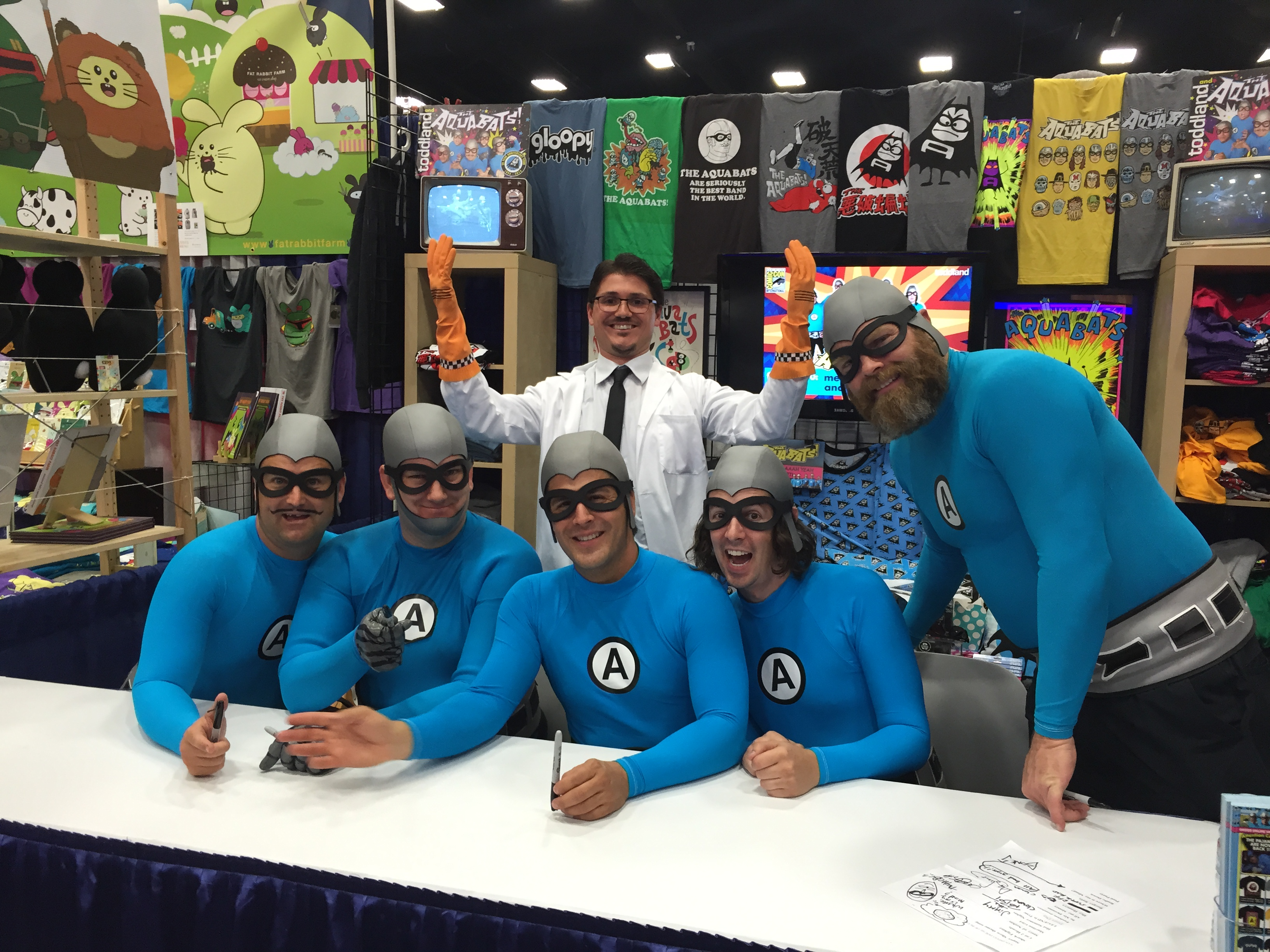 Professor Monty Corndog of the Aquabats