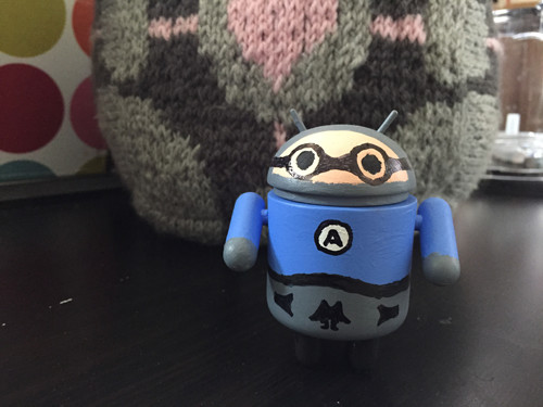 Little Jimmy the Robot