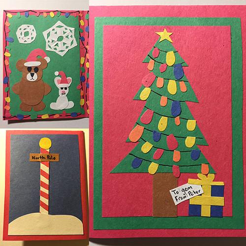 Christmas card for gem