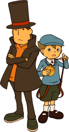 Layton and Luke
